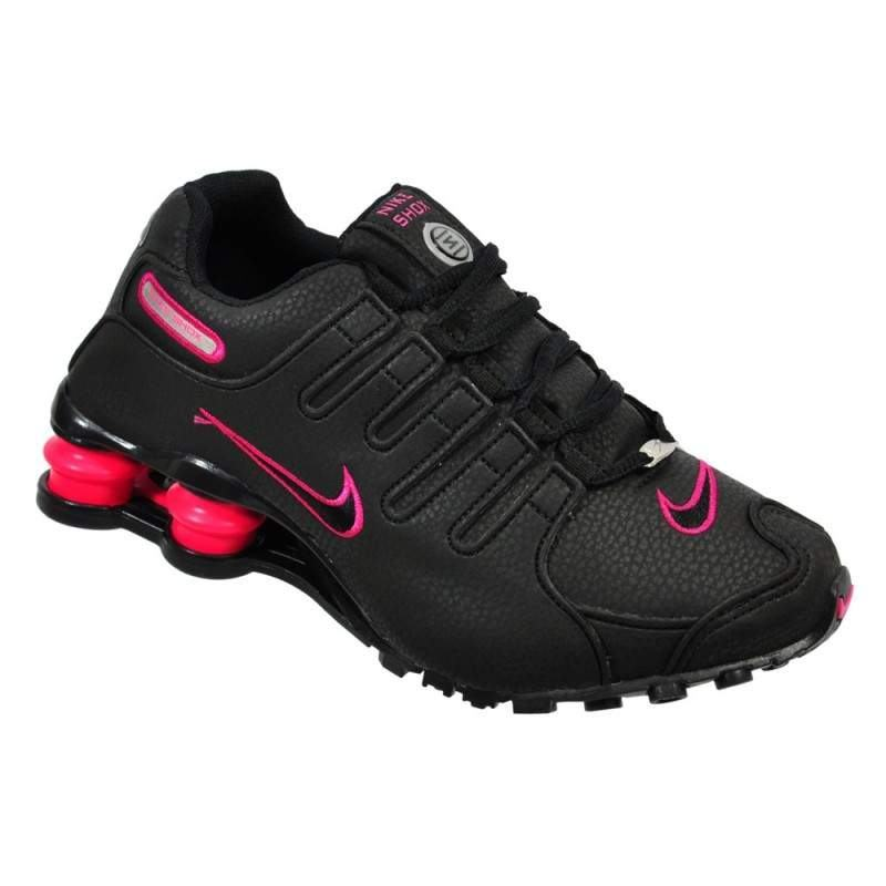 separation shoes 57c30 281e0 Tênis Nike Shox NZ Preto-Rosa